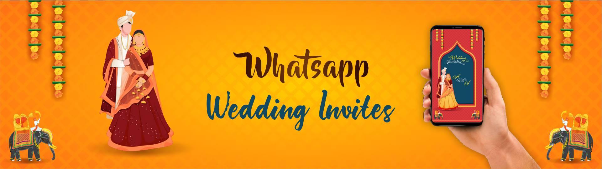 whatsApp Wedding Invitation video
